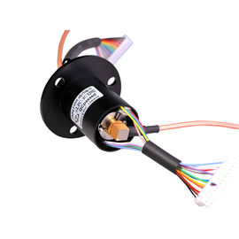 China High Frequency Rotary Slip Ring Of 12 Circuits Transmitting Data And Analog Signal Up To 40GHz supplier