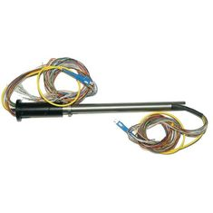 China Compact Hybrid Slip Ring Fiber Optic Rotary Joint Video Surveillance Transmitting supplier