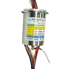 China Hybrid Slip Ring Transmitting Power with High Frequency Rotary Joint for Medial Engineering Equipment supplier