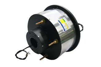 China 14 Circuits Routing Through Bore Slip Ring φ80mm 400A Large Current For Marine supplier