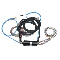 China Integrated Slip Ring of 22 Wires Routing 2A Current, 1 Wire Gigabit Ethernet Signal with 1ckt Coaxial Rotary Joint supplier