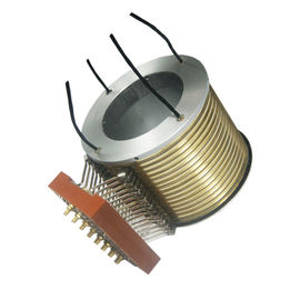 China 16 Circuits Separate Standard Slip Ring 2500rpm High Speed 150℃ High Working Temp supplier