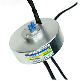 China Compact Pancake Slip Ring of 13 Circuits Transmiting 100M Ethernet for Precise Testing Device supplier