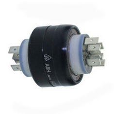 China 8 Pole Mercury Slip Ring Rotating Elctrical Connector Small Size And No Noise For Automation Equipment supplier