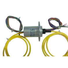 China 12 Circuits Slip Ring Integrated with Fiber Optic Rotary Joint for Material Conveying System supplier