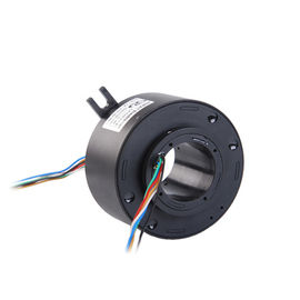 China 96 mm Through Bore Slip Ring of 1~24 Circuits with 500rpm High Working Speed for Production Equipment supplier