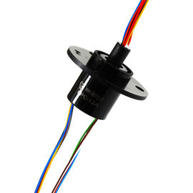 China 240 VAC/DC Electrical Slip Ring 2A Per Circuit 300 Rpm Rotating Speed 12 Circuits supplier