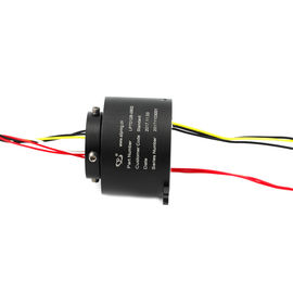 China High Speed Drome Through Hole Slip Ring 6 Circuits 12mm Hole Compact Designed supplier