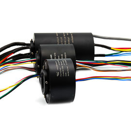 China Electrical Through Bore Slip Ring IP54 Protection For Military Equipment supplier