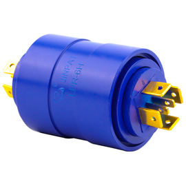 China 6 Circuits Slip Ring Brushless Pin Connection with 0-300rpm Operating Speed for Medical Use supplier
