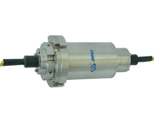 China Multimode Fiber Optic Rotary Joint , 4 Circuits Rotating Electrical Connectors supplier