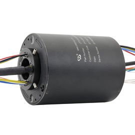 China 16 Circuits Through Bore Slip Ring with a 25mm Hole for Signal Transmission supplier