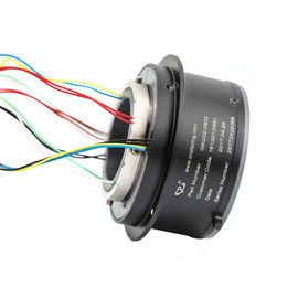 China 8 Circuits Slip Ring Solutions High Temperature Resistant Aluminum Alloy Materials factory