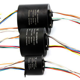 China Flexible Bore Size Compact Slip Ring Transmitted Signal / Circuit Number supplier