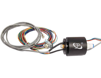 China 12 Circuits Slip Ring Transferring Current Signal and Gas for Blow Molding Machine supplier