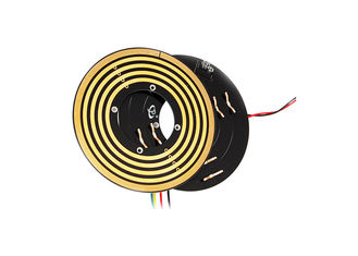 China Small Thickness Flat Slip Ring Transmitting 5A Current with Low Contact Resistance for Robots supplier