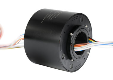 China 6 Circuits ID 12.7mm Through Bore Slip Ring with 10 Amps Per Circuit for Filling Machine supplier