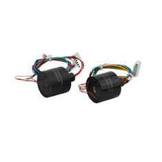 China 5 Circuits Capsule Slip Ring with 5VAC Voltage and Wide Working Temperature Range for LED Industry supplier