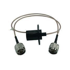 China 1 Circuit Video Signal Slip Ring with 200VDC Voltage and 300rpm Rotating Speed for Display Equipment supplier