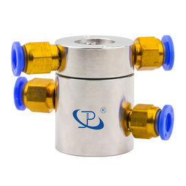 Slip Ring of 2 Channels Rotary Union Routing Compressed Air with Extremely Low Torque