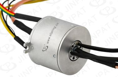 China 20 Circuits Through Bore Slip Ring Transmitting Current and Signal with φ80mm Hole supplier