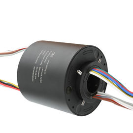 China Medical Treatment Compact Slip Ring Precious Metal Contact 12 Circuits 10A Hole Diameter 24.5mm supplier