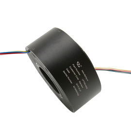 China 6 Circuits 5A Through Hole Slip Ring 360 Degree Continuous Rotation To Transmit Power / Data Signals supplier