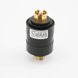 China 380v Pin Industrial Slip Ring Gold Plated Pin 4 Circuit 15A IP40 For Wind Turbines supplier