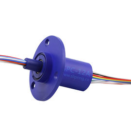 China slip ring flanges slip ring brush holders12 wire slip ring rotary joint manufacturer supplier