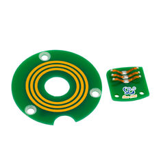 China Flat Pancake Slip Ring ID 14mm 360 Degree Continuous Rotation To Transmit Power / Data Signals factory