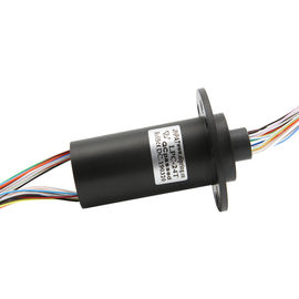 China 24 Circuit Miniature Slip Ring Compact Capsule Rotary Electrical Interfaces For Rotating Water Tank supplier