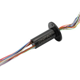 China 24 Circuits Miniature Capsule Slip Ring Transmitting Electricity with Low Torque Design for Lawnmower supplier