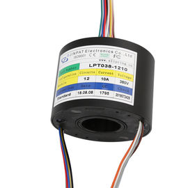 China Compact Through Bore Slip Ring Transferring Ethernet  With  A Long Life For Camera supplier