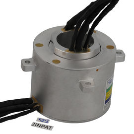 China 12 Circuits Through Hole Slip Ring Transmitting 10A in 4 Circuits and Signal in 8 Circuits factory