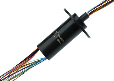 China Smooth Running Electrical Slip Ring of 36 Circuits 2 Amps Per Circuit with 240VAC Voltage for CT supplier