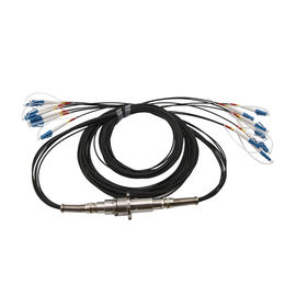 Durable Fiber Optic Cable Joint 6 Channel 300rpm IP65 IP67 Optical Power 23dBm