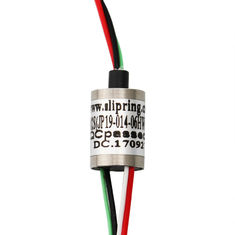 0~300rpm High Speed Slip Ring , IP54 Miniature Slip Ring For Take Up Device