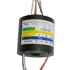China Through hole slip ring long life free maintenance 18 circuit 5A can be used for wind power equipment factory