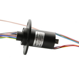 China High Frequency Rotary Slip Ring 12 Circuits Transmitting Data Analog Signal Up To 40GHz factory