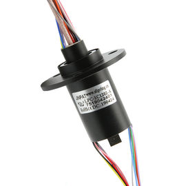 12 Circuits Slip Ring with High Frequency Rotary Joint High Speed Transmission Up To 50GHz