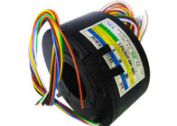 17 Circuits Pancake Slip Ring of Engineerinng Plastic Housing with Low Friction for Medical Equipment supplier