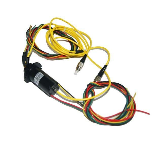 Single Channel Optical Slip Ring with Electromagnetic Interference Capacity for Medical System