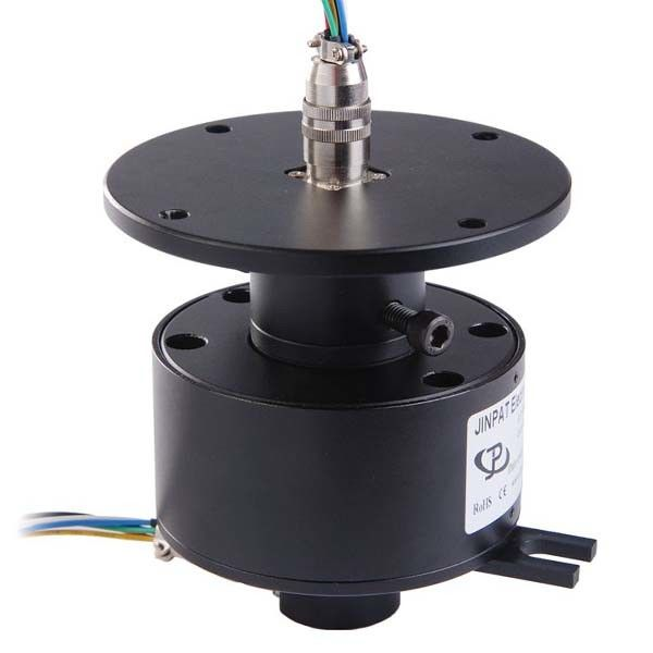 25 Circuits Slip Ring with a Through Hole Adopting Precious Metal Contact for Marine Equipment supplier