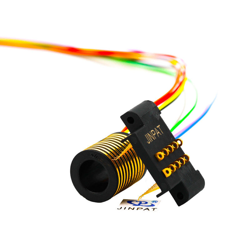 10 Circuits Electric Slip Ring 100rpm Speed Transmitting 2A For OEM Machinery supplier
