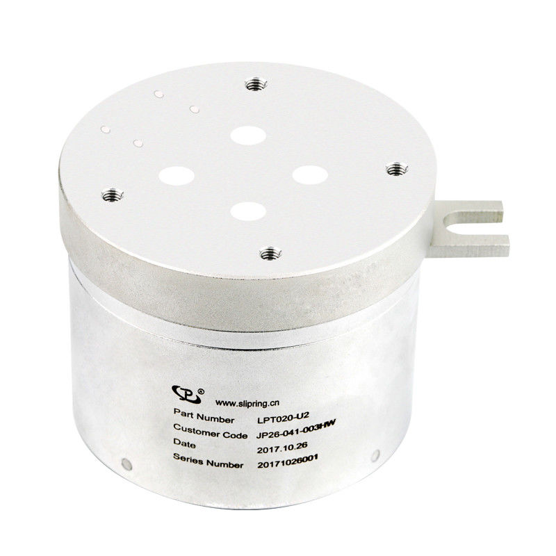 5 Circuits Through Bore Slip Ring Transmitting USB 2.0 Signal with Inner Diameter of 20mm