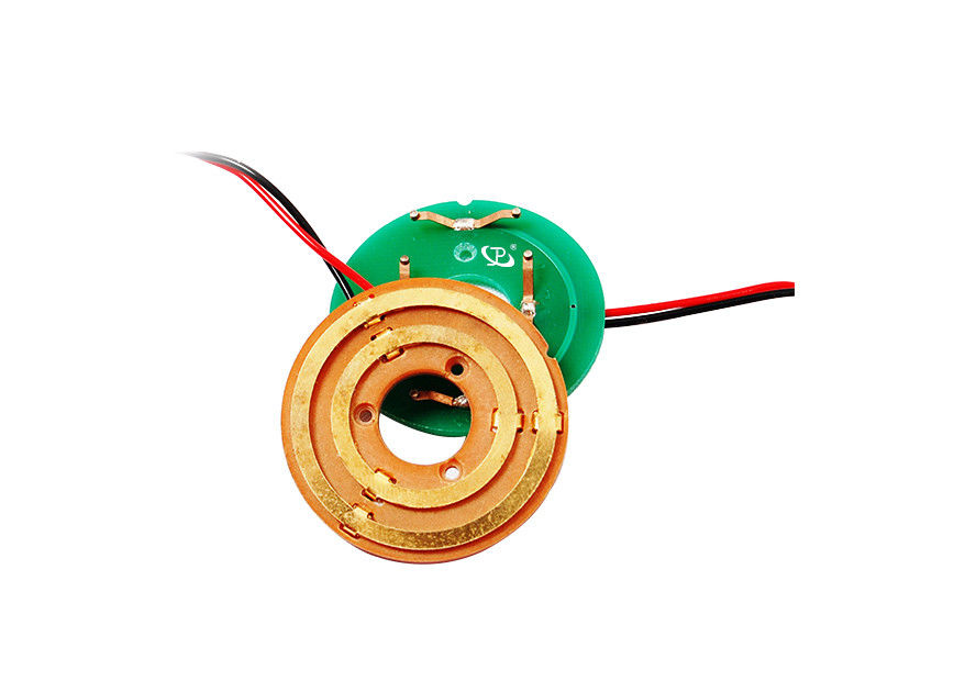 13mm Hole Dia Pancake Slip Ring with Ultra Low Resistance for Small and Precise Devices supplier