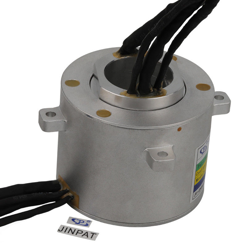 12 Circuits Through Hole Slip Ring Transmitting 10A in 4 Circuits and Signal in 8 Circuits supplier