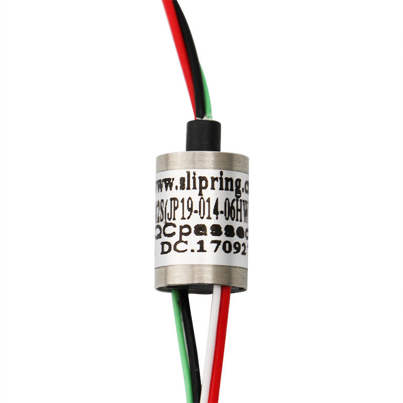 Miniature Slip Ring,0~300rpm High Speed Slip Ring , IP54,For Take Up Device supplier