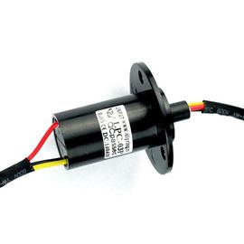 China Rotary Joint Capsule Slip Ring 3 Circuits Tight Structure 240V AC / DC For Precise Robots distributor