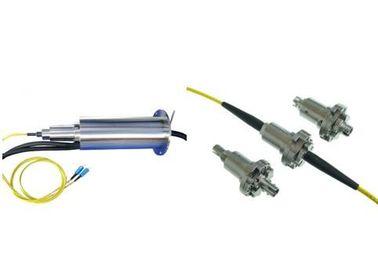 China Fiber Optic Slip Ring Rotary Joint , Radar Antennas Electrical Slip Rings IP65 distributor